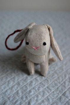 Bunny Ornament - Sian Keegan