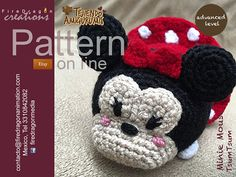 Minnie Mouse Patron Crochet tsum tsum