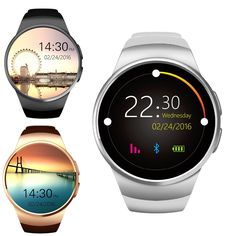 59.00$  Watch now - http://alicvu.worldwells.pw/go.php?t=32788993499 - Headspring KW18 Smart Watch support SIM/TF card wristwatch for apple samsung gear S2 Android OS pk gt08 dz09 u8 gv18 59.00$