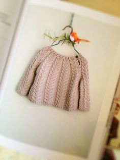 From the soon to be released book called Lullaby Knits.