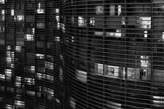 The Copan Building (Detail at Night), São Paulo, 2011. Photo © Olaf Heine.  The Love that Remains: Brazil through the Eyes of Photographer Olaf Heine.