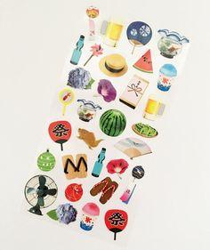 Summer Selection Mind Wave Stickers // Erin Condren Planner Stickers // Scrapbooking embellishment // DIY essentials
