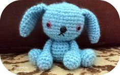 """Free pattern for """"Baby Bunny Leeloo""""!  http://www.amigurumitogo.com/2012/06/baby-bunny-leeloo-free-crochet-bunny.html"""