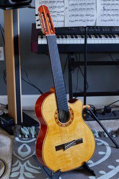 Guitar Chords, Acoustic Guitar, Guitar Images, Beautiful Guitars, Classical Guitar, Music Instruments, Stuff Stuff, Cordoba, Guitars