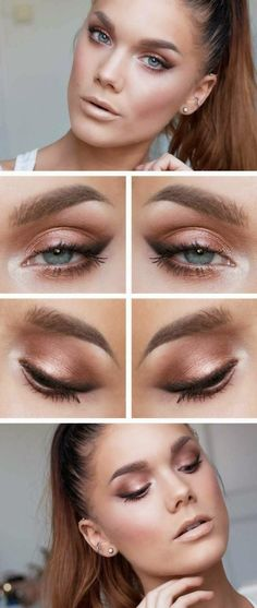 The light make look will give you a more nature look and endow you with a face that appears to be born with. It is more suitable for our every day life. Related PostsMakeup tips to make you face look thinnerPolished look for Office Makeup TutorialFind out what your face shape is with this helpful …