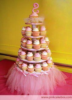 ballerina party for a little girl's