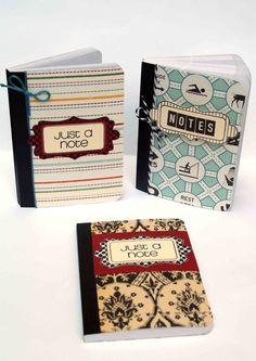 simple but cool mini composition books