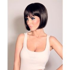 Amazon.com: Whatabeautifullife - Short Brown Black Mix Bob Natural As Real Hair Wig+wig Cap: Toys & Games
