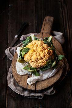Yellow Cauliflower by onegirlinthekitchen, via Flickr