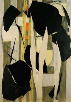 by Lee Krasner. Milkweed. (1955) Gorgeous. Yummy. That off-white with the green is to die for.