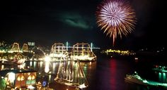 The fireworks that happen in Nagasaki during the Tall Ships Festival is one of the most beautiful things. Check out more information about the festivals that happen in Japan during April at http://thebestworldtravels.com/festivals-happen-japan-april/