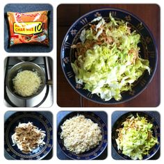 For those times when you have no access to (or are too damn lazy to make) proper food. My Fortified Instant Dry Ramen: cook ramen according to packet instructions; place shredded, cooked chicken breast into a bowl, top with ramen seasoning; drain ramen and place in bowl; toss until ramen, chicken and seasoning are evenly mixed; top with shredded lettuce (as much as you can stand.). Eat. #cooking #eatright #food #foodie #kitchen #meal #musclefood #nutrition #recipe #recovery #snack