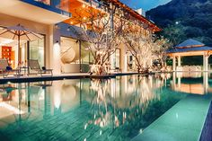 Phuket Holiday ViIla #phuket #thailand #asianluxuryvillas _____________________ Set upon a clifftop in its own private cove the edge-of-the-World seascape at this villa is nothing short of breathtaking. As you gaze in any direction you will see only nature beautifully undisturbed