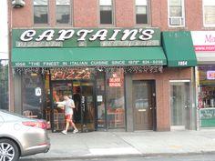 Captains Pizzaria On Morris Park Ave