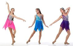 Momentous Lyrical Sequin Ice Skating Ballet Dress Tap Dance Costume Child/Adult #Cicci