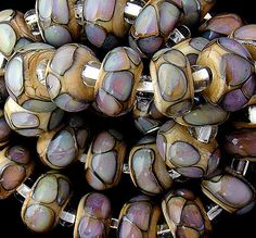 DSG Beads Handmade Organic Lampwork Glass Made To by debbiesanders, $185.00