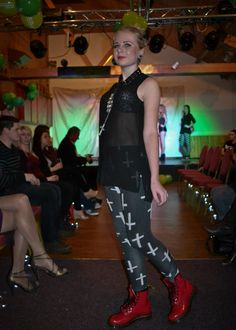 Rebecca warren photography for Macmillan charity fashion show-grunge #grunge #fashion