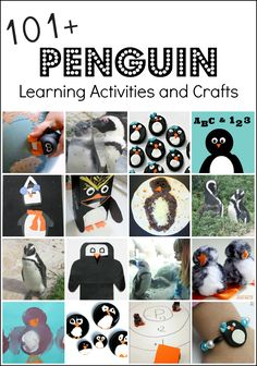 101+ Penguin Activities and Penguin Crafts for Busy Parents and Teachers
