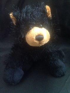 Webkinz Black Bear HM004 Fuzzy Forrest Plush Stuffed Animal Ganz Toy