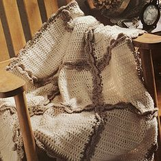 Easy Lap Robe & Afghan Crochet Pattern ePattern