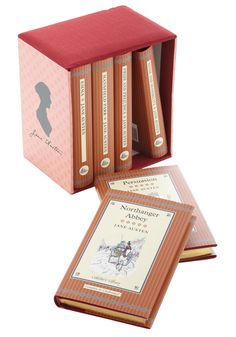 Jane Austen Box Set. Jane Austen once said, There is nothing like staying home for real comfort. #multi #modcloth