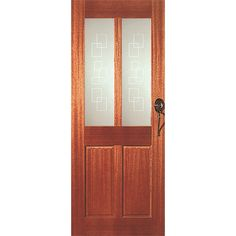 Hume Doors Lincoln3 1980x810x40mm Entrance Glazed Frost Links