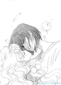 "Art from ""Mermaid Panic"" series by manga artist & ""Sailor Moon"" creator Naoko Takeuchi."