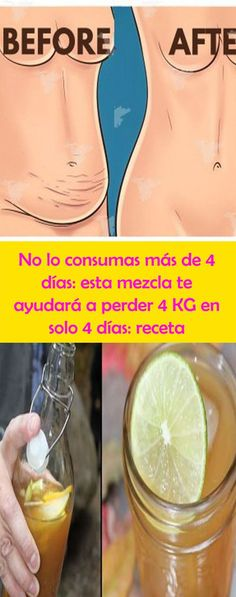 No lo consumas más de 4 días: esta mezcla te ayudará a perder 4 KG en solo 4 días: receta – NEDI Natural Cough Remedies, Natural Cures, Health Facts, Health Tips, Fitness Tips, Health Fitness, Healthy Life, Healthy Skin, My Diet Plan