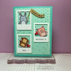 Such an Adorable card created by Linda N using Simon Says Stamp Exclusive stamps.