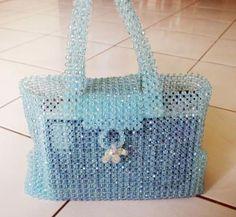 Schemi perline: borsa realizzata con lavorazione base