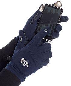The North Face Gloves, Etip Gloves - Mens Hats, Gloves & Scarves - Macy's