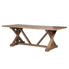 Elm Parquet Top Dining Table | One Living | €1650
