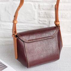 Genuine Leather Handmade Handbag Crossbody Bag Shoulder Bag