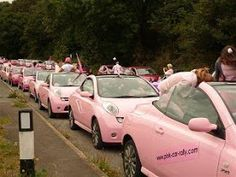 Me-Mo - Blog - Funky Car Accessories for Girls. Great Gift Ideas!: Pink Car Rally