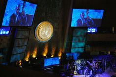 INTERNATIONAL JAZZ DAY CONCERT AT THE UNITED NATIONS  The General Assembly of the United Nations makes a great venue for a jazz concert. Lighting by WorldStage. 2012 International Jazz Day | Lighting Technology – WorldStage