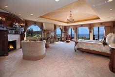 This is a master bedroom!