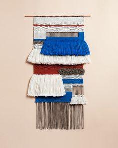 Weavings by Mimi Jung on Art Hound, via Pattern Pulp.