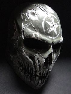 Airsoft hub is a social network that connects people with a passion for airsoft. Talk about the latest airsoft guns, tactical gear or simply share with others on this network Skull Helmet, Skull Mask, Futuristic Helmet, Airsoft Helmet, Half Face Mask, Armor Concept, Masks Art, Fantasy Weapons, Headgear