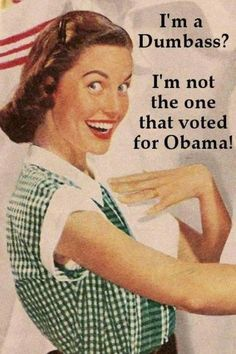 I'm A Dumbass? I'm Not the One That Voted for Obama! - Clash Daily