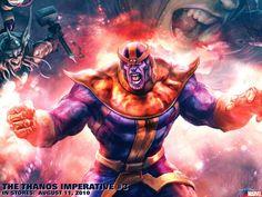 Fonds d'écran Comics et BDs Marvel Comics thanos