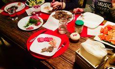Kids were having buffet for super!!! (Me) yaas!!
