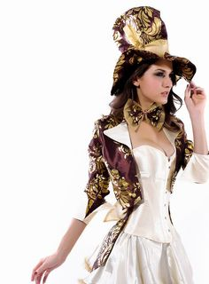 Deluxe Tea Party Hatter Costume