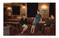 Kitty, Daisy & Lewis by Bryan Adams for Vogue Germany November 2013. Lets Rock! Photographed in our Boro Location.