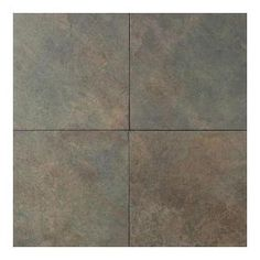 Daltile Color Body Porcelain 18 in. x 18 in. Brazilian Green Floor Tile-CS521818S1P6 at The Home Depot