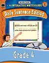 Daily Sentence Editing - Grade 4 on the Smartboard! (other grades avail also)
