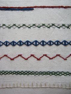 Embroidery Stitche