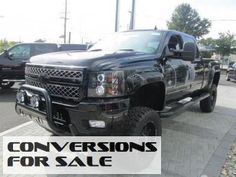 2014 Chevy Silverado 2500HD Southern Comfort Black Widow Lifted Truck