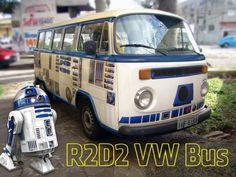 #Geek, #R2D2, #StarWars, #Van, #Volkswagen