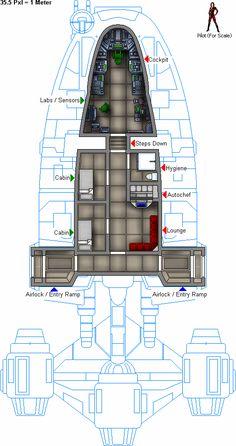 YG-4210 deckplan