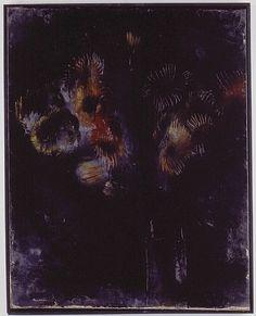 Fleures noires - Jean Fautrier